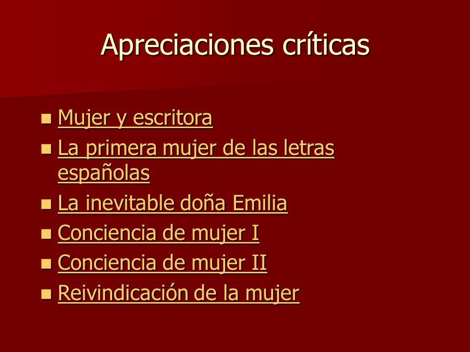 Apreciaciones críticas