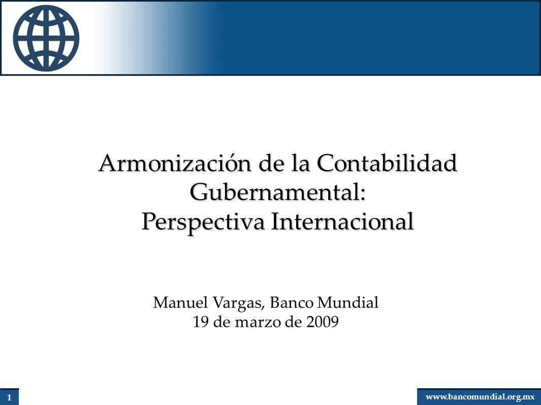 Armonización de la Contabilidad Gubernamental:
