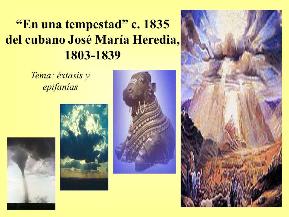 del cubano José María Heredia, 1803-1839