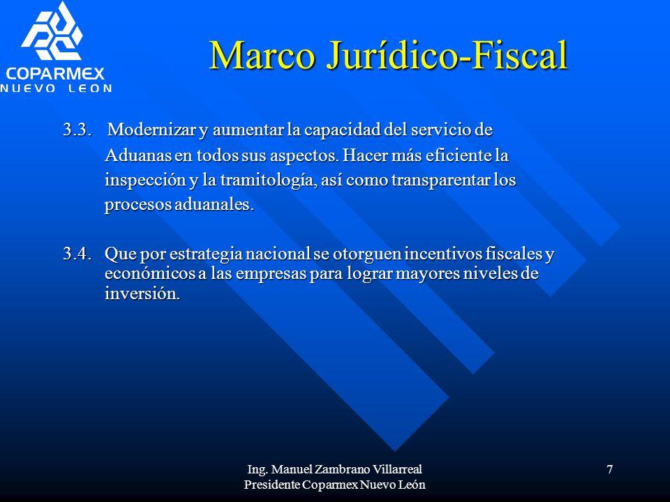 Marco Jurídico-Fiscal