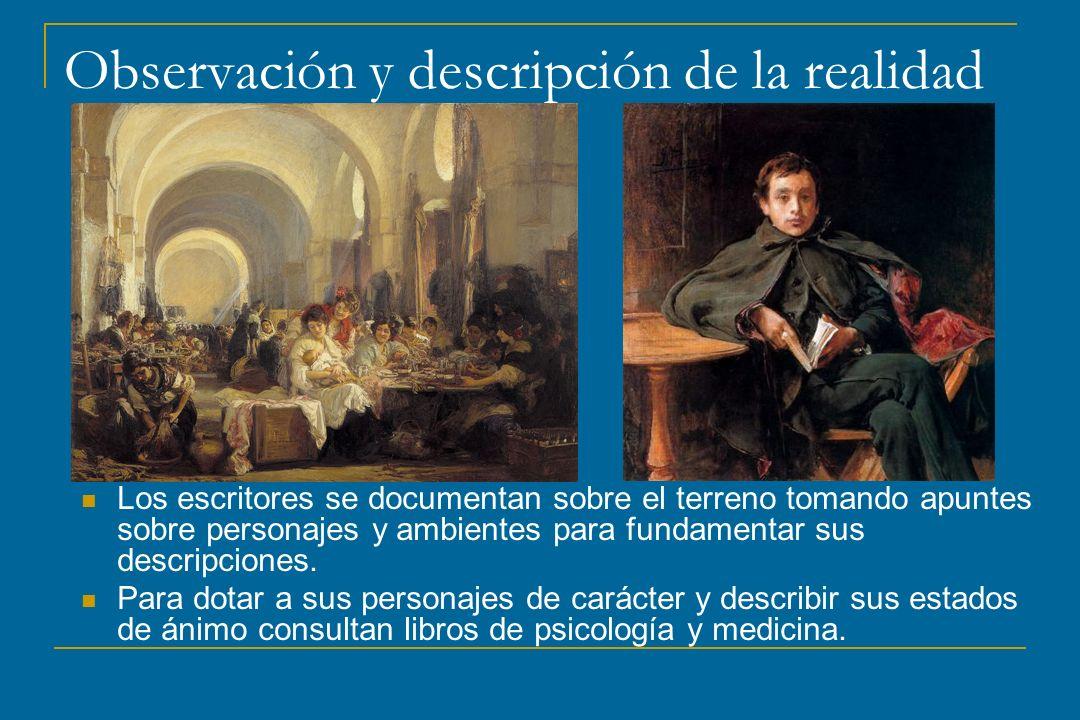 Observación y descripción de la realidad