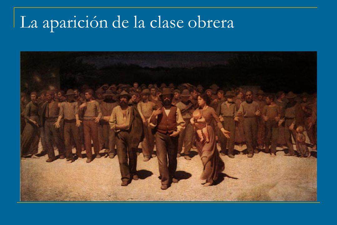 La aparición de la clase obrera