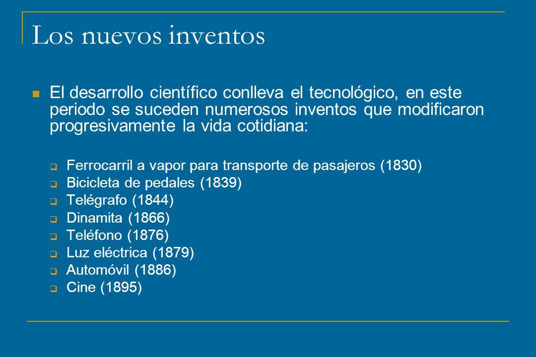 Los nuevos inventos