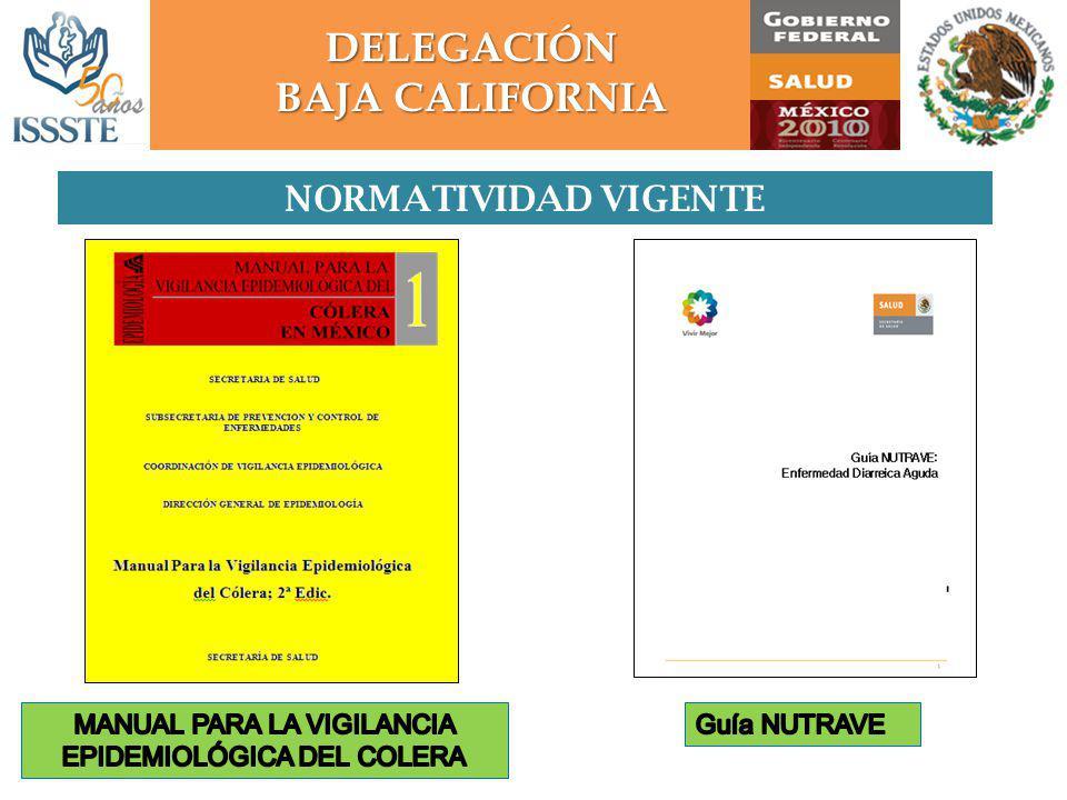MANUAL PARA LA VIGILANCIA EPIDEMIOLÓGICA DEL COLERA