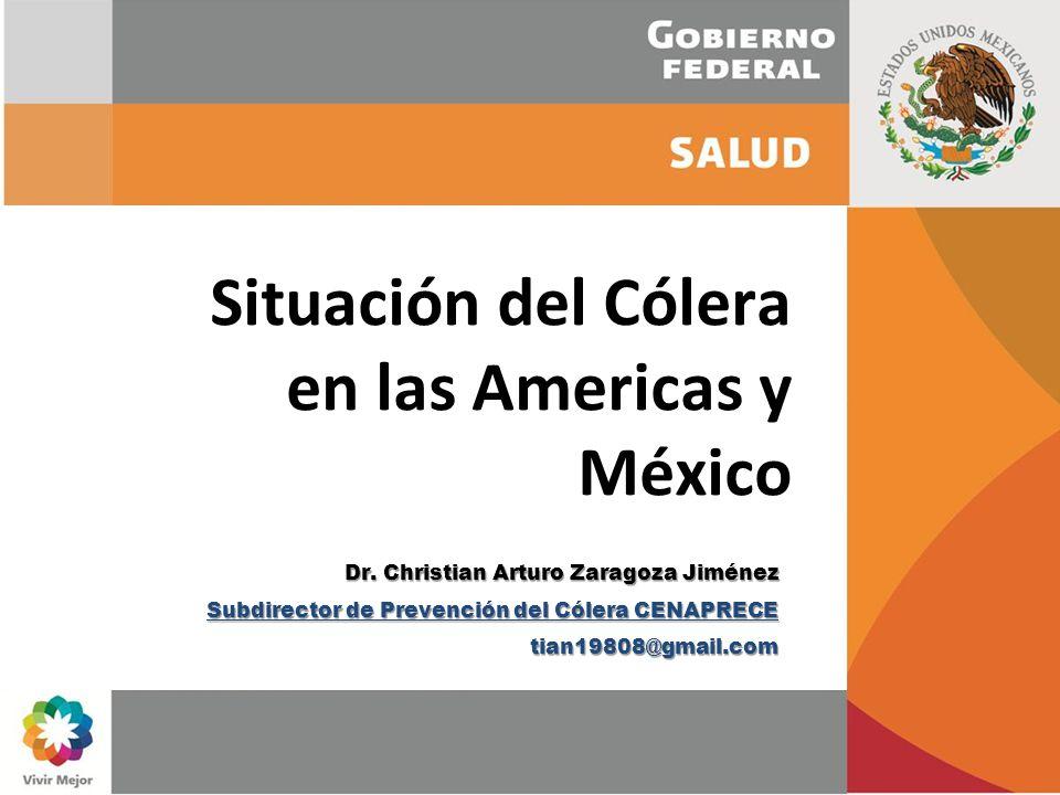 Situación del Cólera en las Americas y México
