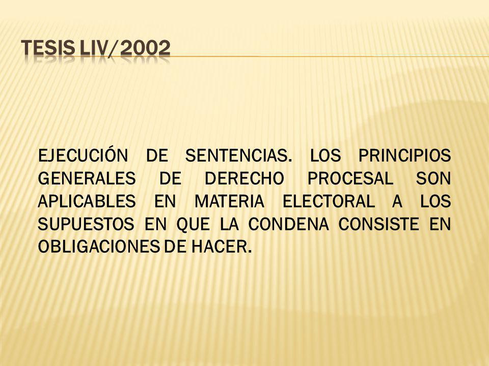 TESIS LIV/2002