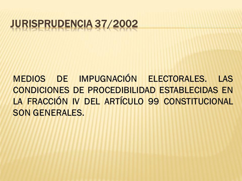 JURISPRUDENCIA 37/2002