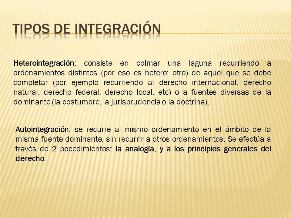 Tipos de integración