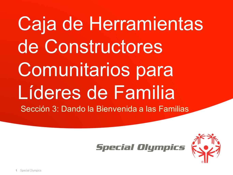 Sección 3: Dando la Bienvenida a las Familias