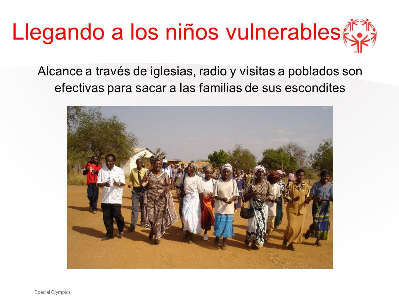 Llegando a los niños vulnerables