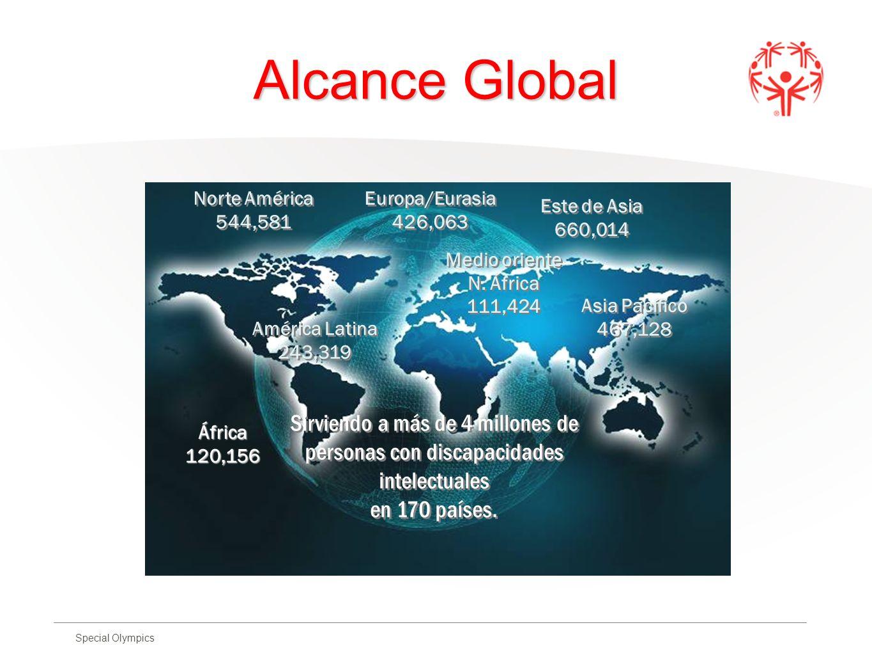 Alcance Global Sirviendo a más de 4 millones de