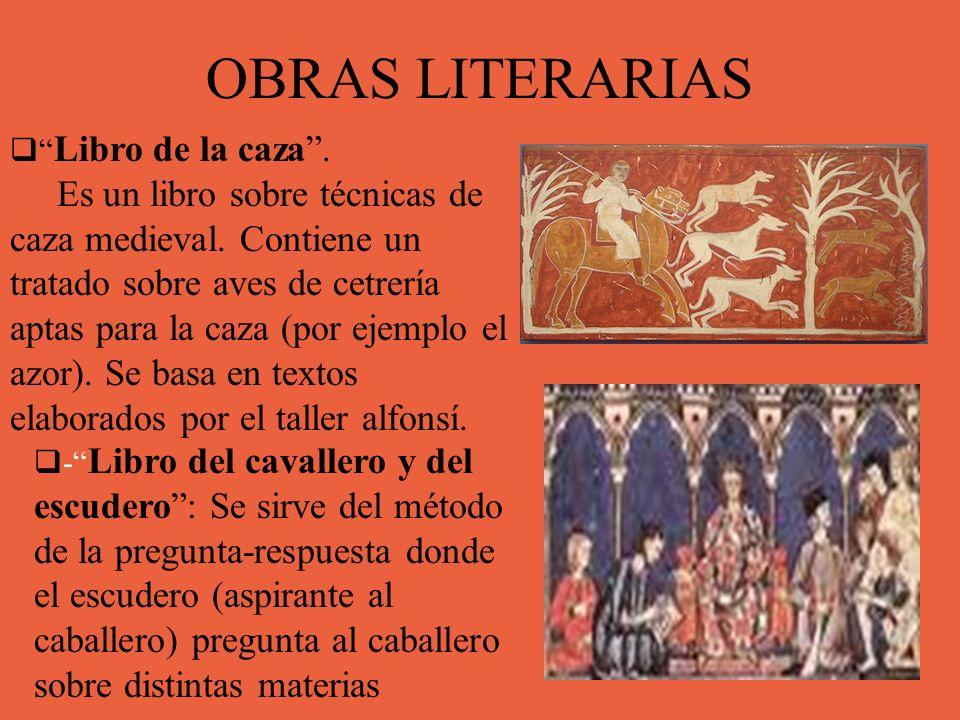 OBRAS LITERARIAS Libro de la caza .