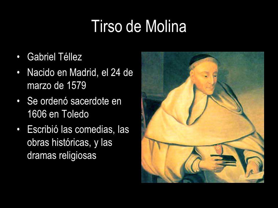 Tirso de Molina Gabriel Téllez