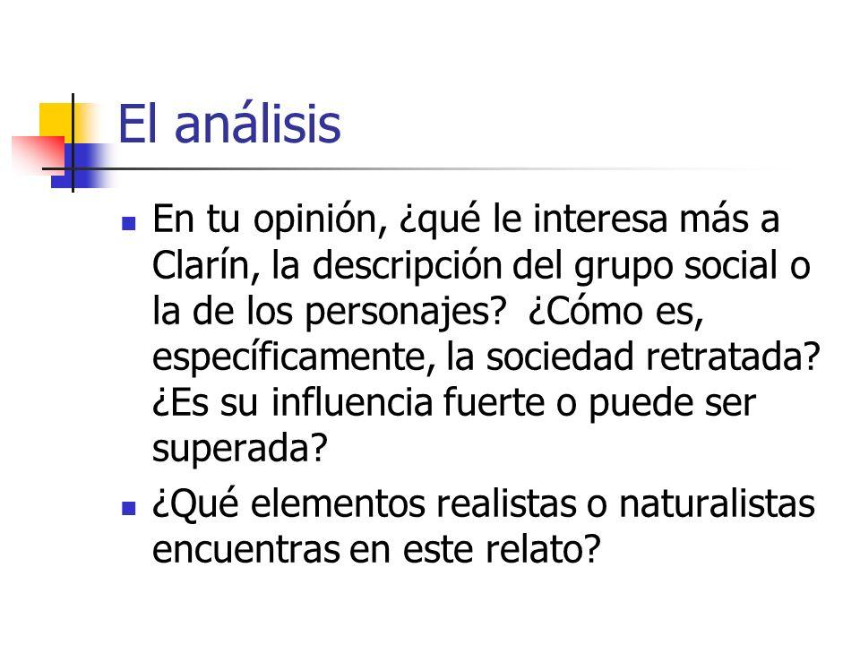 El análisis