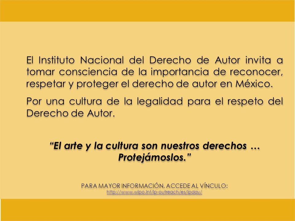 El arte y la cultura son nuestros derechos …