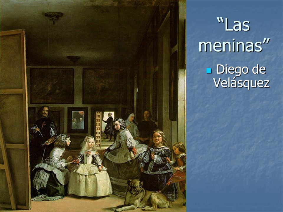Las meninas Diego de Velásquez