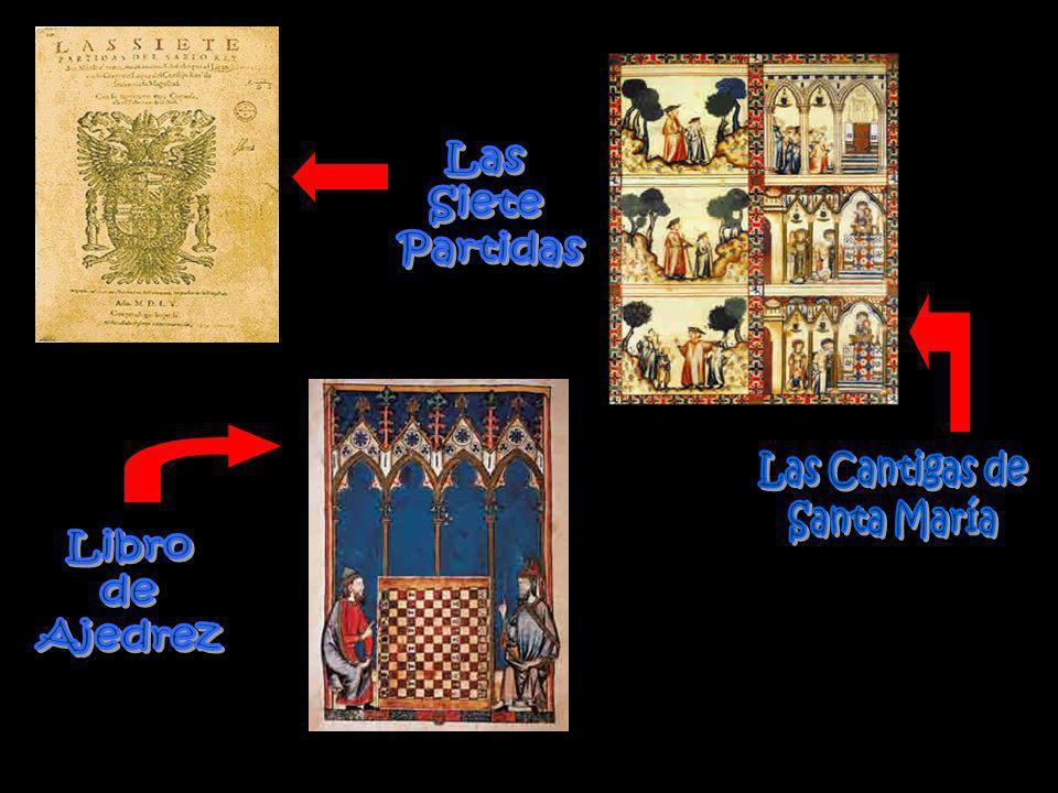 Las Siete Partidas Las Cantigas de Santa María Libro de Ajedrez