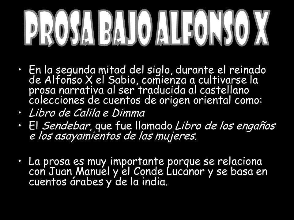 Prosa bajo Alfonso X