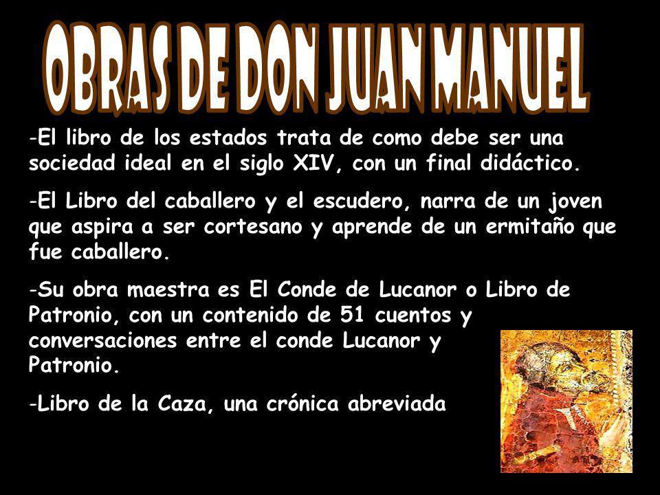 Obras de Don Juan Manuel