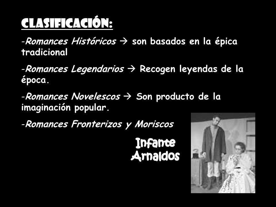 Infante Arnaldos Clasificación: