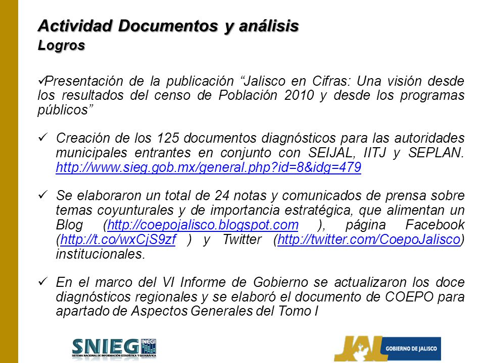 Actividad Documentos y análisis