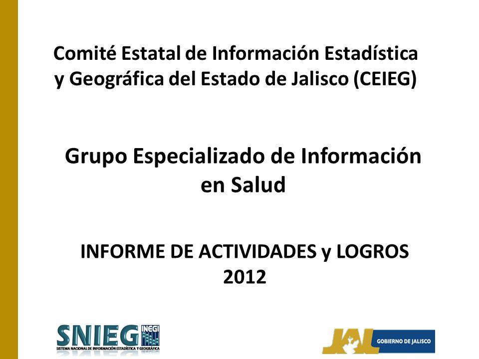 Grupo Especializado de Información en Salud