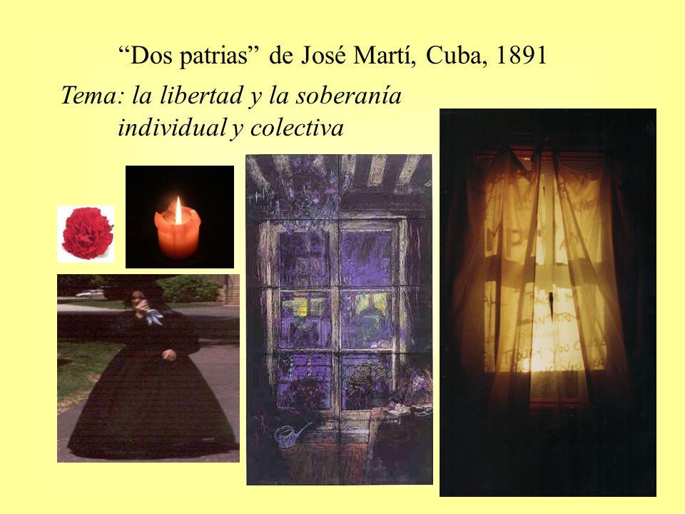 Dos patrias de José Martí, Cuba, 1891