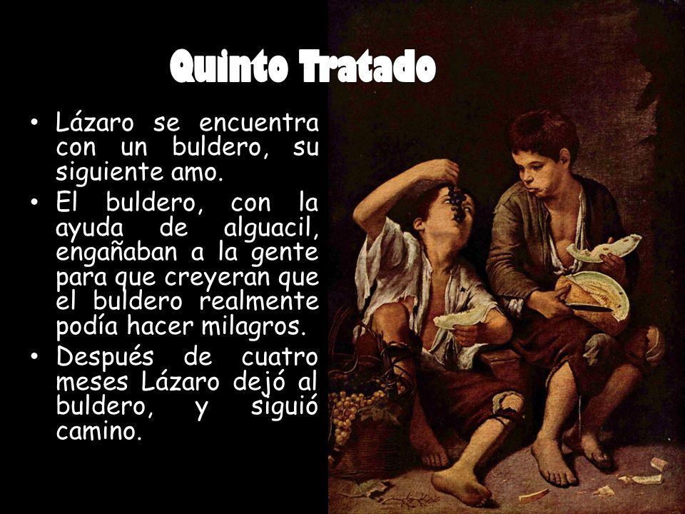 Quinto Tratado Lázaro se encuentra con un buldero, su siguiente amo.
