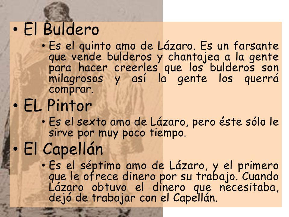 El Buldero EL Pintor El Capellán
