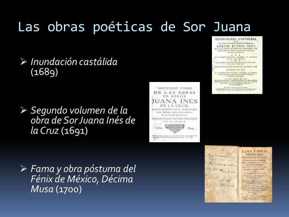 Las obras poéticas de Sor Juana