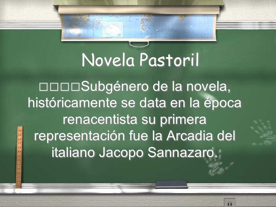 Novela Pastoril