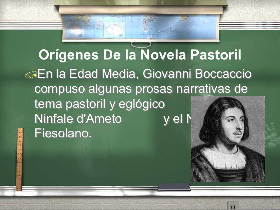 Orígenes De la Novela Pastoril