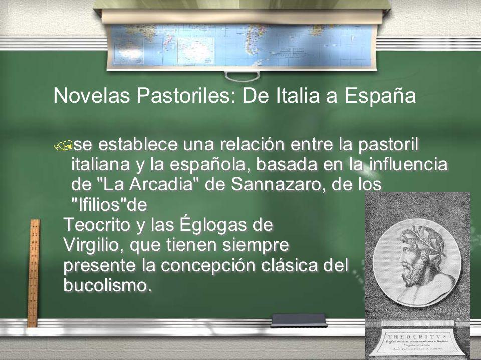 Novelas Pastoriles: De Italia a España