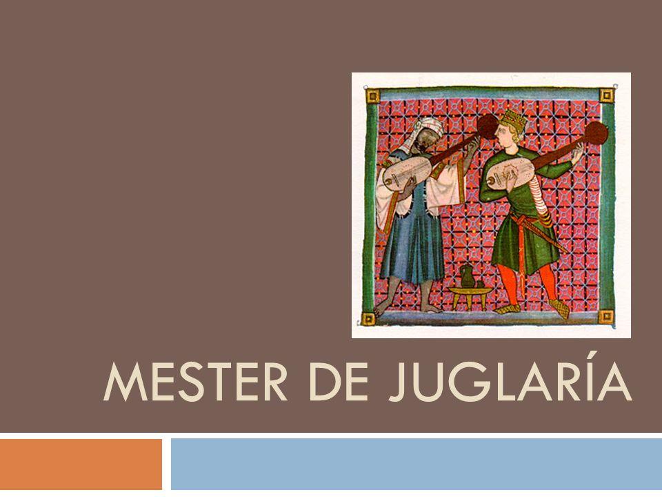 MESTER DE JUGLARÍA