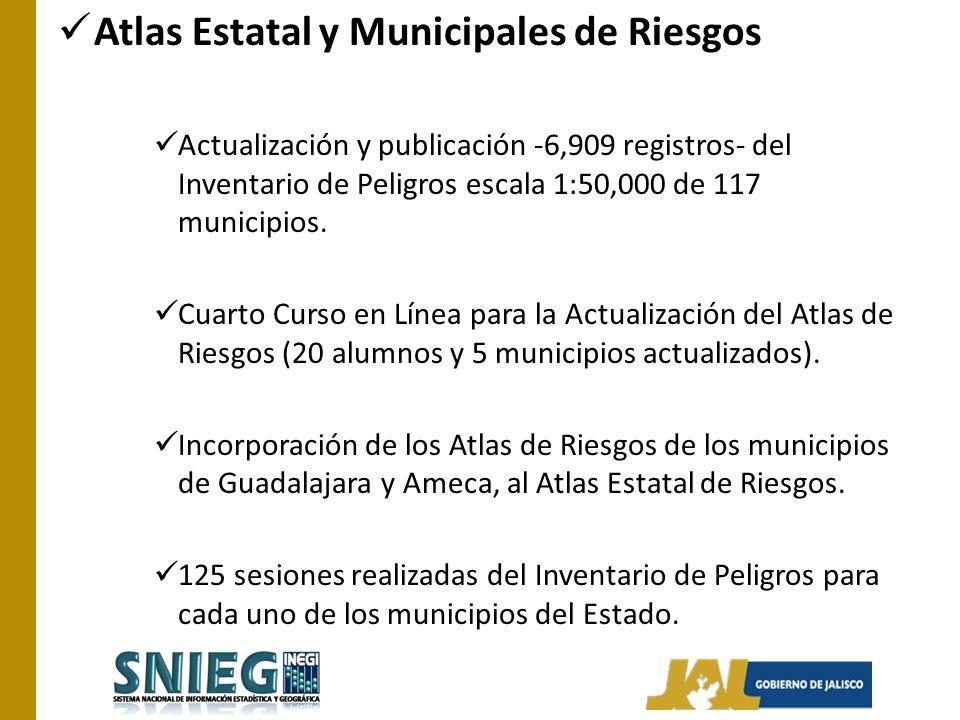 Atlas Estatal y Municipales de Riesgos