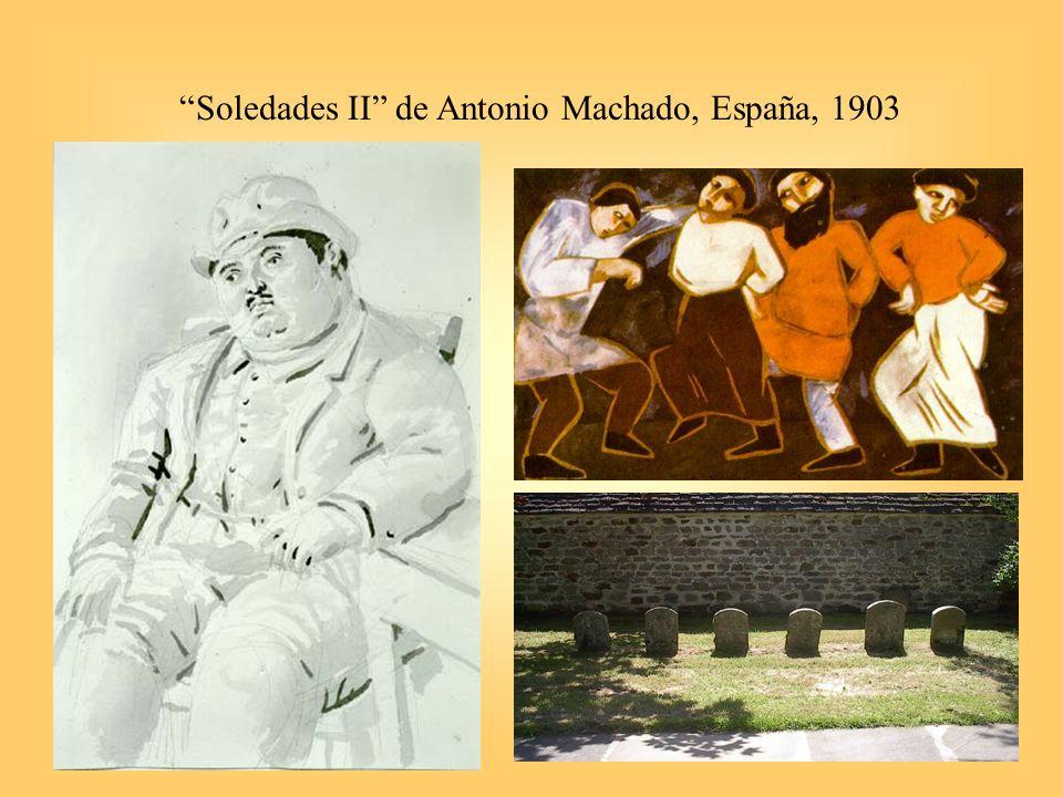Soledades II de Antonio Machado, España, 1903