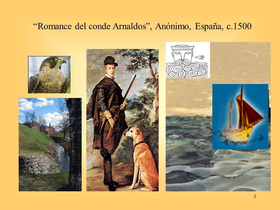 Romance del conde Arnaldos , Anónimo, España, c.1500
