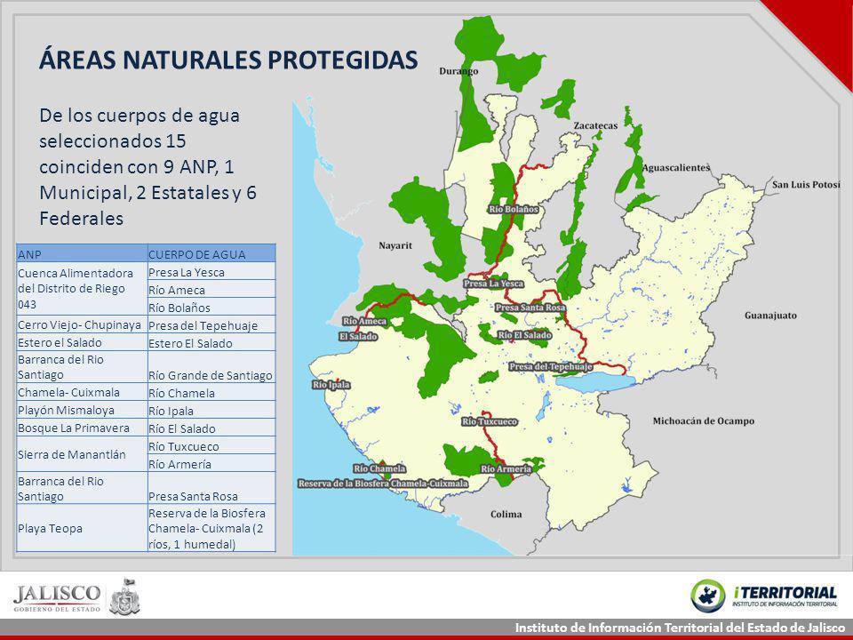 ÁREAS NATURALES PROTEGIDAS