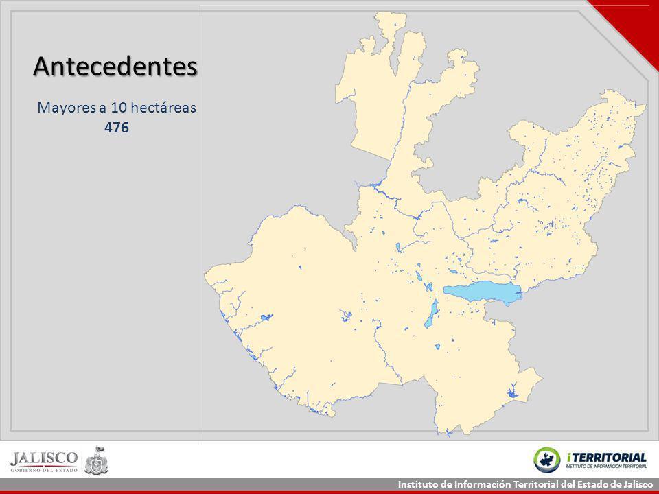 Antecedentes Mayores a 10 hectáreas 476