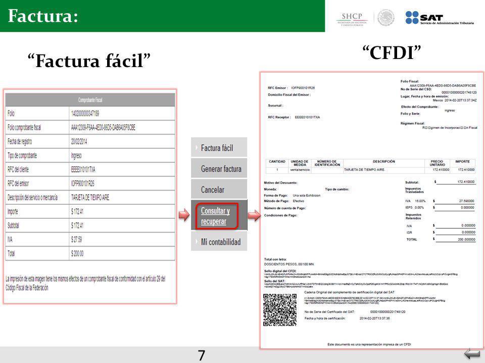 CFDI Factura fácil