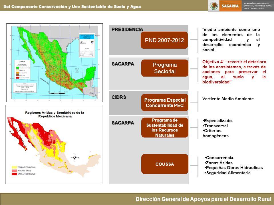Dirección General de Apoyos para el Desarrollo Rural