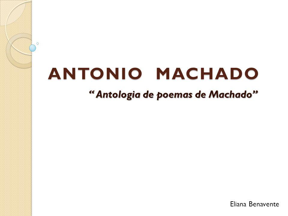 Antologia de poemas de Machado