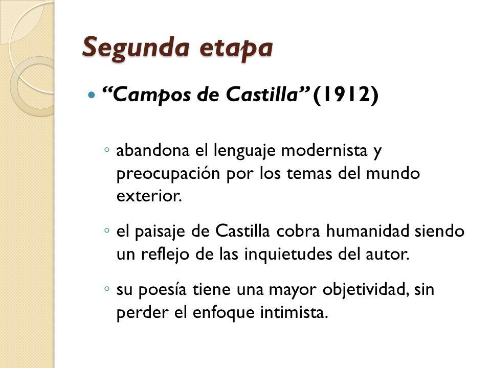 Segunda etapa Campos de Castilla (1912)