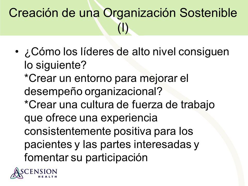 Creación de una Organización Sostenible (I)