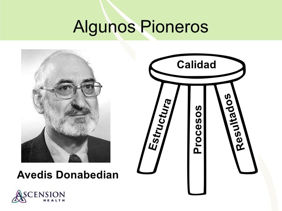 Algunos Pioneros Calidad Resultados Estructura Procesos