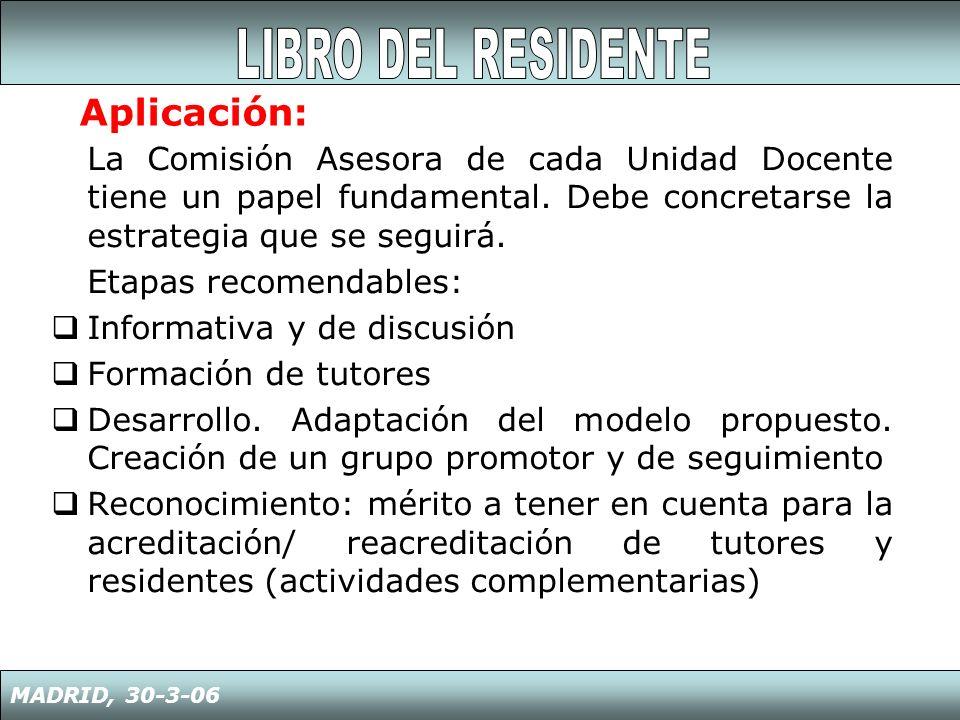 LIBRO DEL RESIDENTE Aplicación: