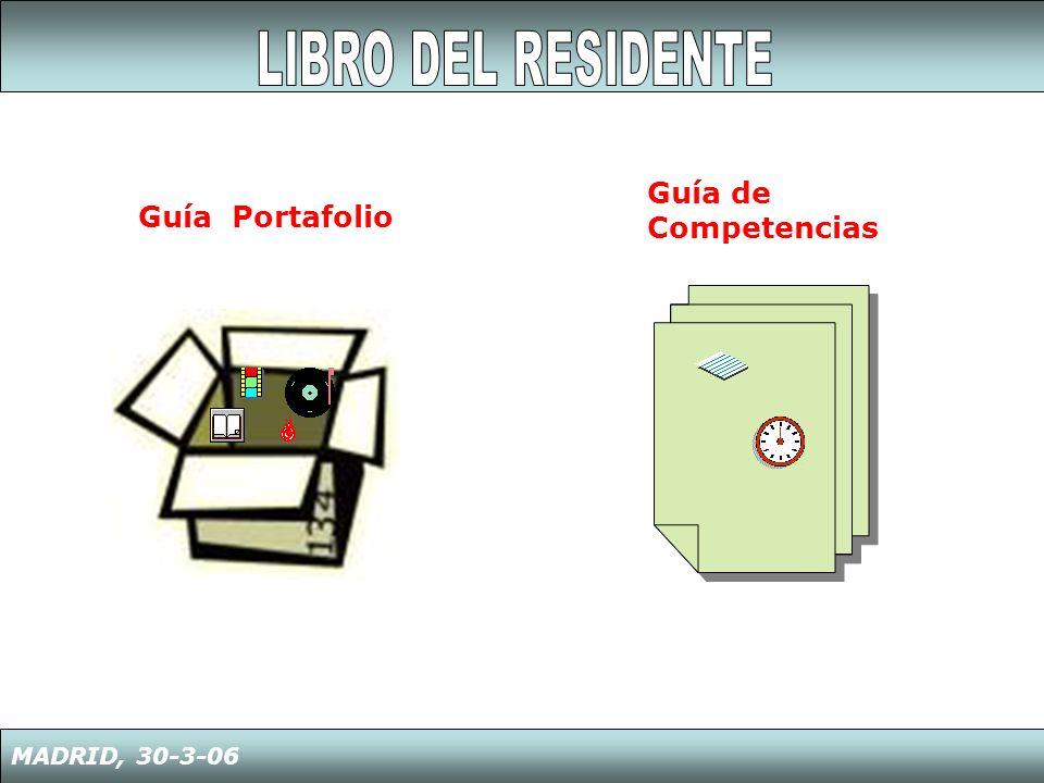 LIBRO DEL RESIDENTE Guía de Competencias Guía Portafolio