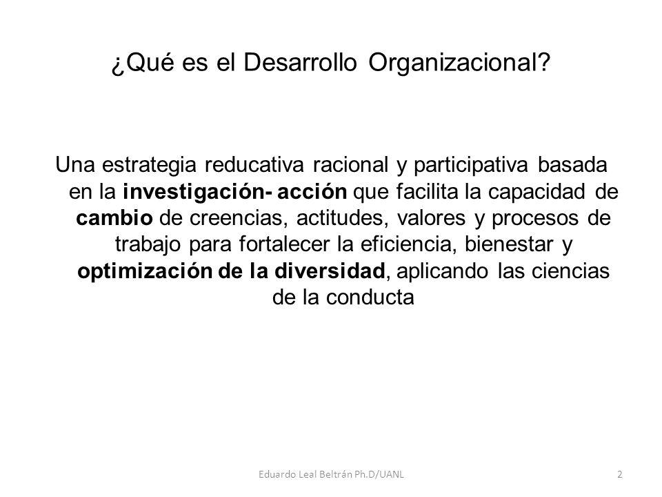 ¿Qué es el Desarrollo Organizacional