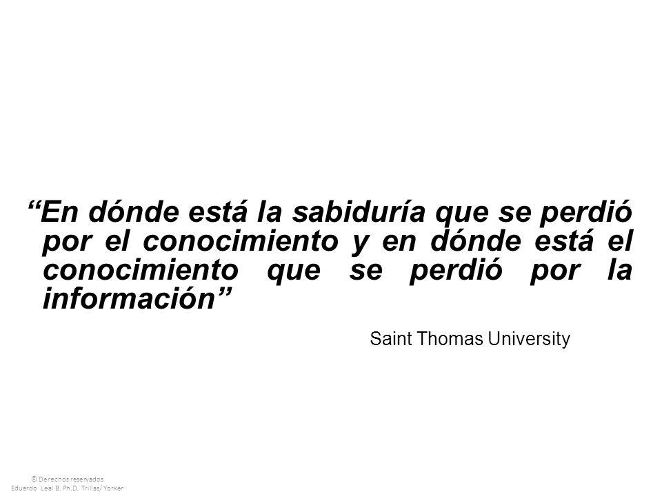 Eduardo Leal B. Ph.D. Trillas/ Yorker