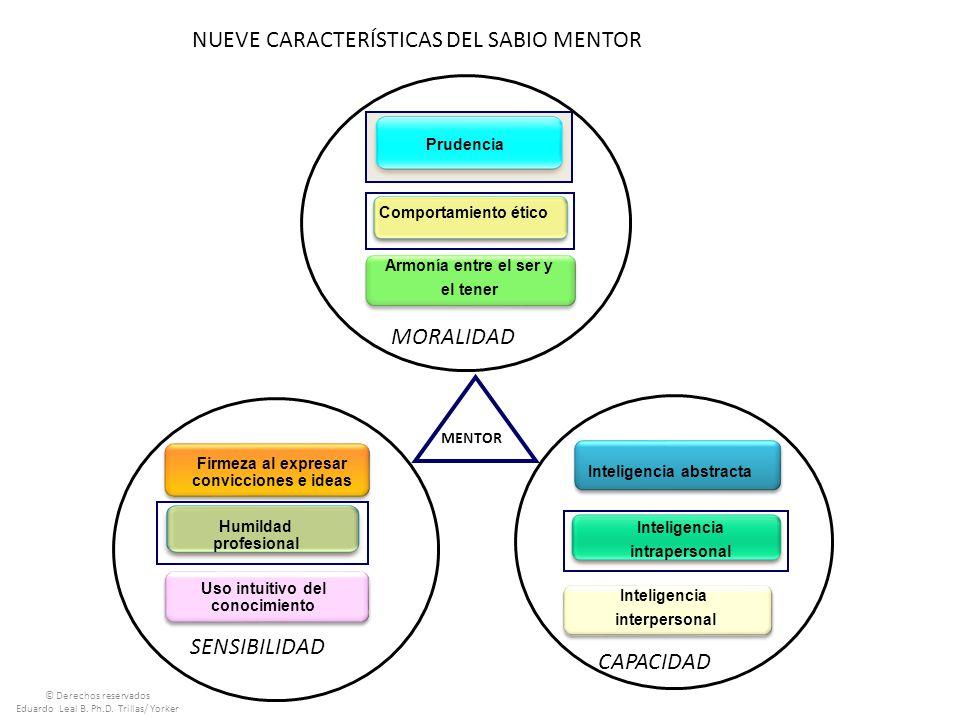NUEVE CARACTERÍSTICAS DEL SABIO MENTOR